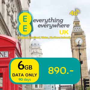 EE 6GB Data Sim